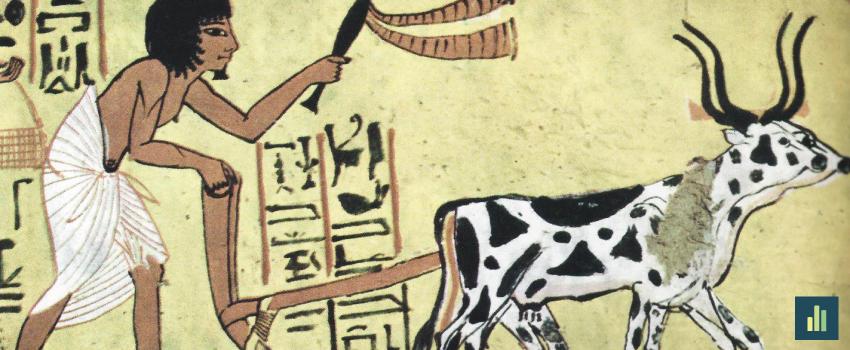 A agricultura: do Egipto à Península Ibérica