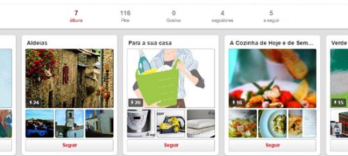 Já conhece o nosso Pinterest?